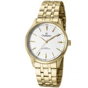 Relógio Champion Feminino Dourado Aço Analógico CN29516H