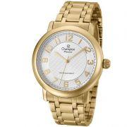 Relógio Champion Feminino Dourado Aço Analógico Passion CN29945H