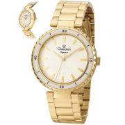 Relógio Champion Feminino Dourado Analógico Elegance CN27438H