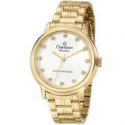Relógio Champion Feminino Dourado Analógico Passion CN29874H