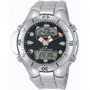 Relógio Citizen Masculino Aqualand II Aço Prata Profundímetro JP1060-52E