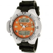 Relógio Citizen Masculino Aqualand II Profundímetro  Borracha Preto JP1060-01Y