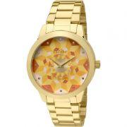Relógio Condor Feminino Dourado Aço Inox Analógico Anitta CO2036KOE/4X