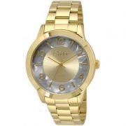 Relógio Condor Feminino Dourado Aço Inox Analógico CO2035KRJ/4C