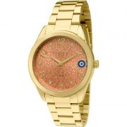 Relógio Condor Feminino Dourado Aço Inox Analógico CO2036KOM/4L