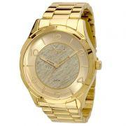 Relógio Condor Masculino Dourado Aço Inox Analógico CO2035KNV/4X