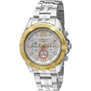 Relógio Condor Masculino Prata Cronógrafo Multi Função COVD54AG/3K