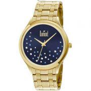 Relógio Dumont Feminino Dourado Fashion Analógico Aço DU2036LST/4A