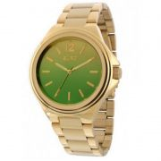 Relógio Euro Feminino Dourado Aço Analógico Casual EU2035YAH/4V