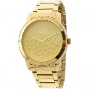 Relógio Euro Feminino Dourado Aço Analógico Casual EU2036LYM/4D