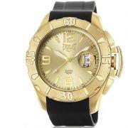 Relógio Everlast Masculino Preto Cronógrafo Silicone E570