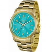 Relógio Lince Feminino Dourado Aço Analógico Fashion LRGJ066L A2KX