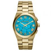 Relógio Michael Kors Feminino Dourado Analógico Metal OMK5894/4AN