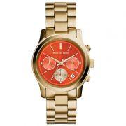 Relógio Michael Kors Feminino Dourado Cronógrafo Analógico MK6162/4LN