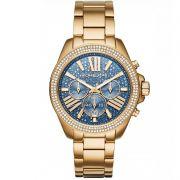 Relógio Michael Kors Feminino Dourado Cronógrafo Analógico MK6291/4AN