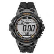 Relógio Mormaii Masculino Borracha Preto Acqua Digital Cronógrafo MO1147A/8C