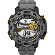 Relógio Mormaii Masculino Poliuretano Cinza Acqua Digital MO1148AC/8C