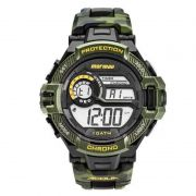 Relógio Mormaii Masculino Silicone Camuflado Digital MO1134/8V