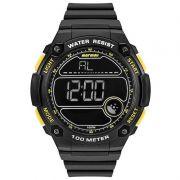 Relógio Mormaii Masculino Silicone Preto Digital MO3670/8Y