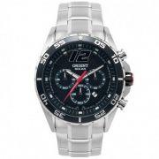 Relógio Orient Masculino Aço Inox Cronógrafo Multifunção Solar MBSSC094 P2SX