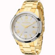 Relógio Technos Feminino Prata Aço Inox Analógico 2115MGN/5K