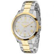 Relógio Technos Feminino Dourado Aço Inox Analógico 2115MGM/4K
