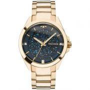 Relógio Technos Feminino Dourado Aço Inox Swarovsky Analógico 203AAA/4A