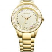 Relógio Technos Feminino Dourado Elegance Analógico Aço Inox 2036LMS/4X