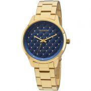 Relógio Technos Feminino Dourado Fashion Trend Analógico Aço Inox 2035MBW/4A