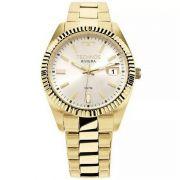 Relógio Technos Feminino Riviera Aço Inox Dourado Analógico 2115KTR/4K