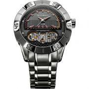 Relógio Technos Masculino Aço Inoxidável Prata Automático Lendas Do Podium 2039AQ/1P