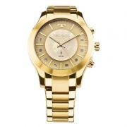 Relógio Technos Masculino Connect Dourado Aço Inox 753AE/4X