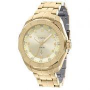 Relógio Technos Masculino Dourado Legacy Aço Inox Analógico 2315ABI/4X