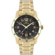 Relógio Technos Masculino Dourado Performance Analógico 2035MNX/4P