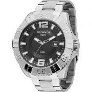 Relógio Technos Masculino Prata Legacy Aço Inoxidável Analógico 2315AAN/1P