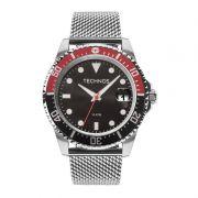 Relógio Technos Masculino Skymaster Prata Aço Inox 2415CJ/0P
