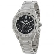 Relógio W.Z.W Feminino Prata Cronógrafo Aço Inoxidável WZW-7255