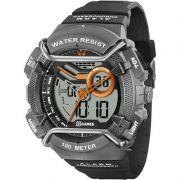 Relógio Xgames Masculino Poliuretano Anadigi Alarme Calendário Cronômetro XMPPA180 BXPX