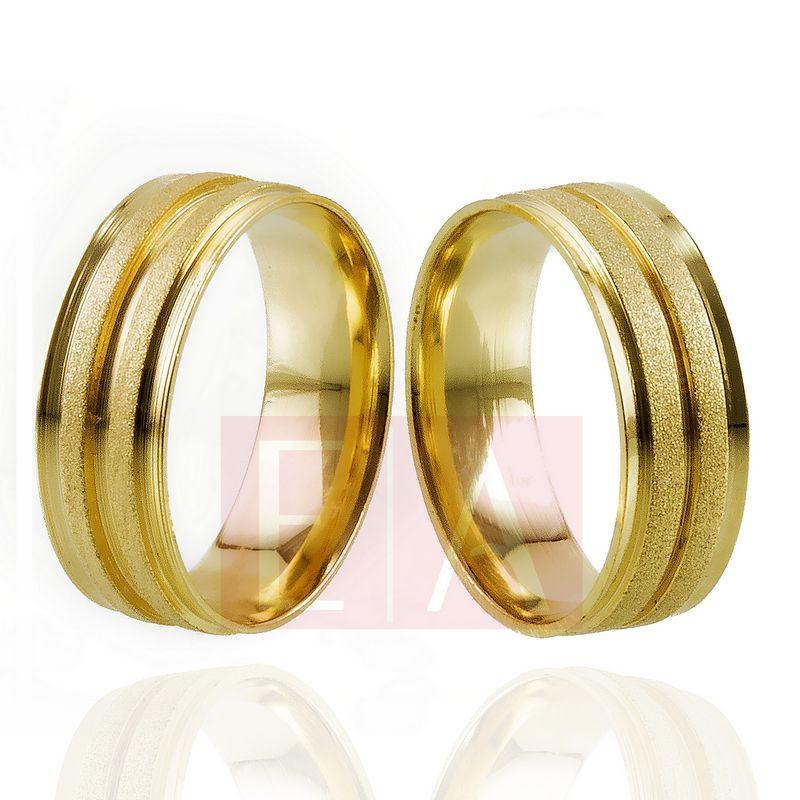Alianças Ouro Casamento Noivado 18k Diamantada Anatomica Quadrada  7mm  12 gramas