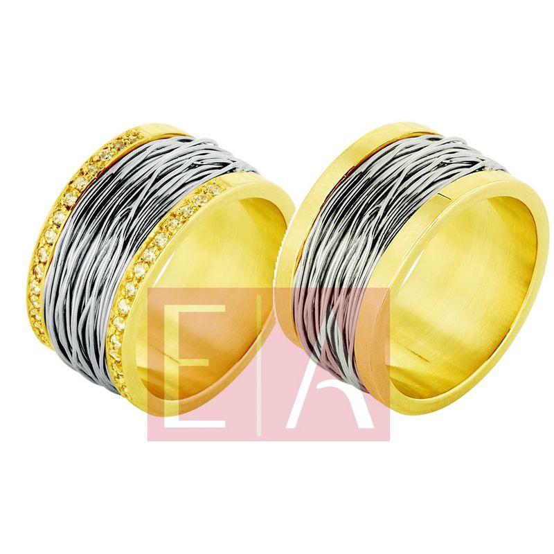 Alianças Ouro Casamento Noivado Bodas 18k Brilhante 12mm 30 gramas o Par Carretel