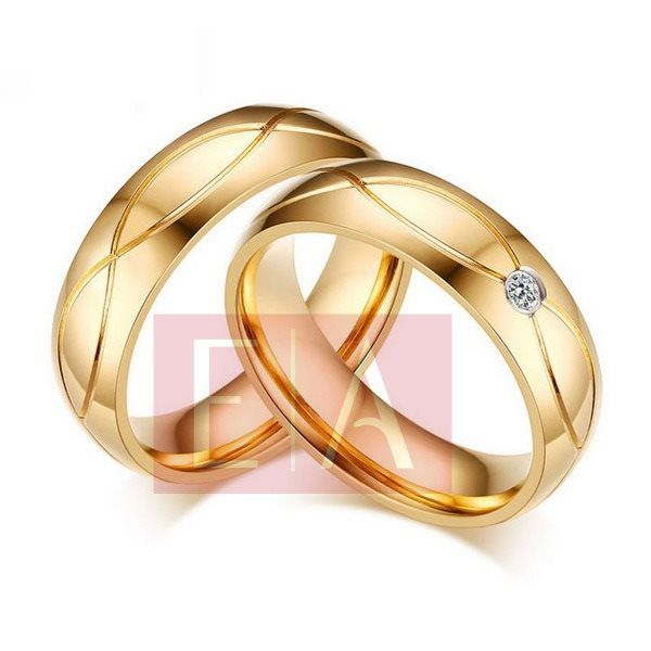 Alianças Ouro Noivado Casamento 18k Redonda Brilhante Anatômica 6mm 10 Gramas
