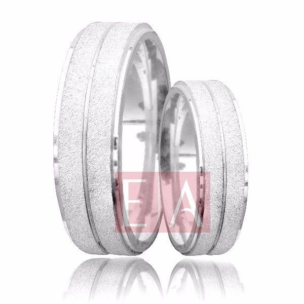 Alianças Prata Compromisso Namoro Quadrada Fosca Diamantada  6mm 10 gramas Anatômica Trabalhada Friso