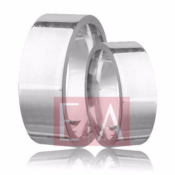 Alianças Prata Compromisso Namoro Quadrada Lisa Polida 12mm 22 gramas Larga