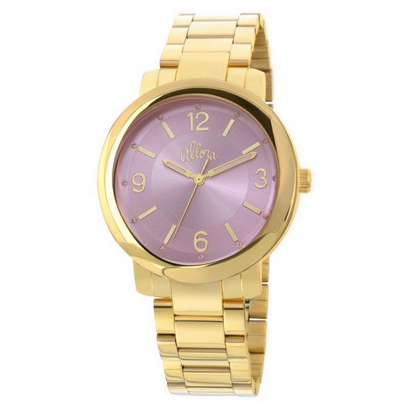 Relógio Allora Feminino Dourado Analógico Metal AL2035EYL/4G