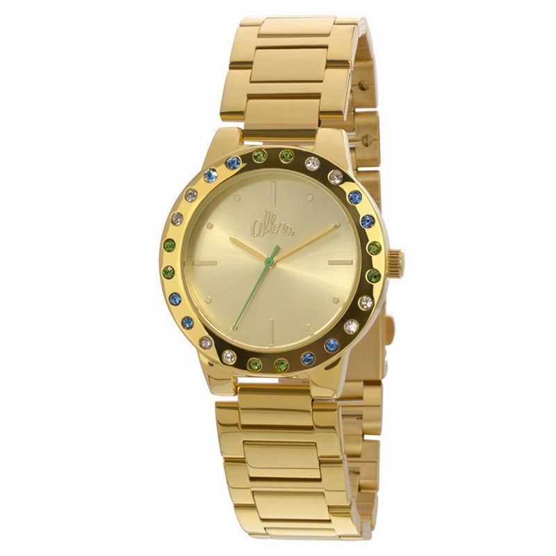 Relógio Allora Feminino Dourado Analógico Metal AL2035EYO/4A