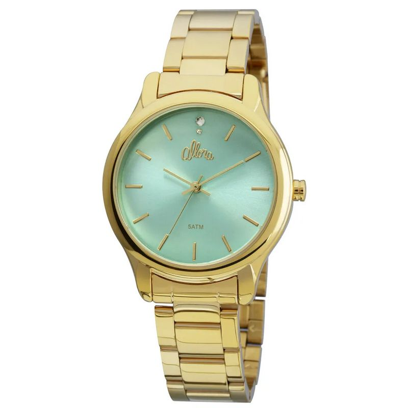 Relógio Allora Feminino Dourado Analógico Metal AL2035FBY/4V