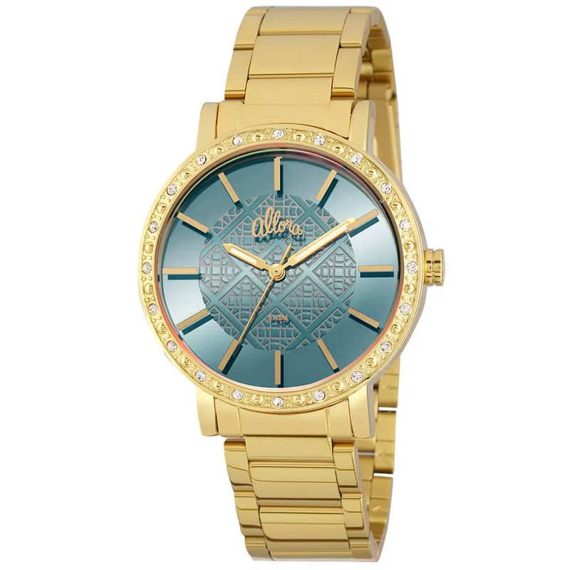Relógio Allora Feminino Dourado Analógico Metal AL2035FHL/4A