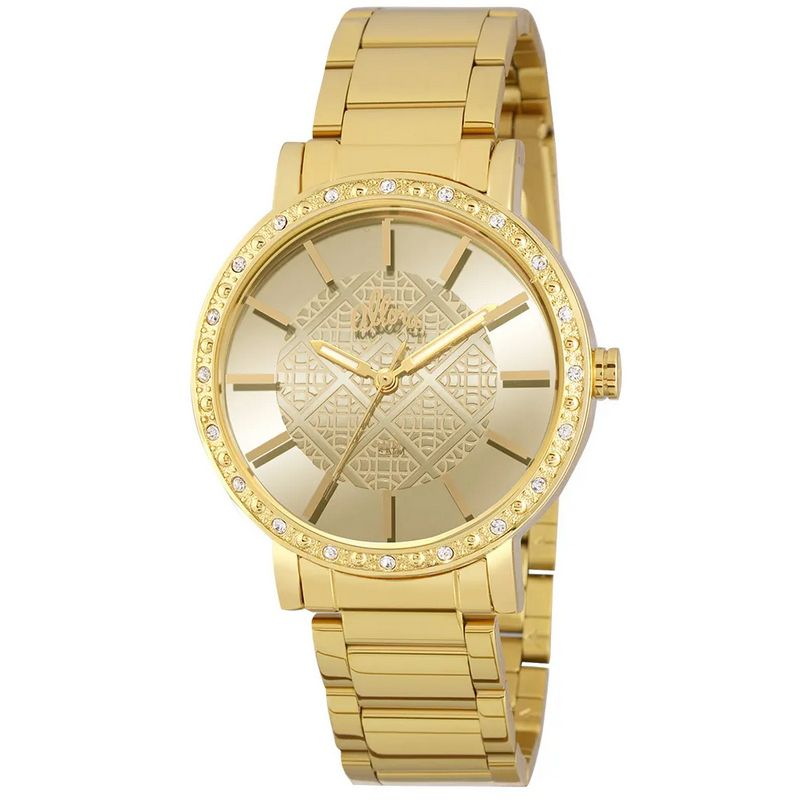 Relógio Allora Feminino Dourado Analógico Metal AL2035FHL/4D