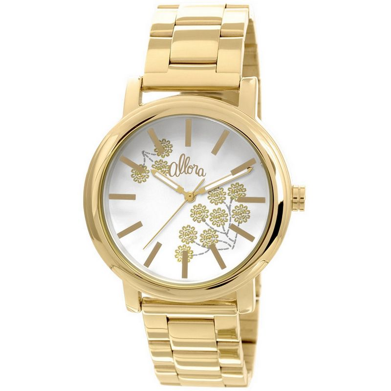 Relógio Allora Feminino Dourado Analógico Metal AL2036CH/4B