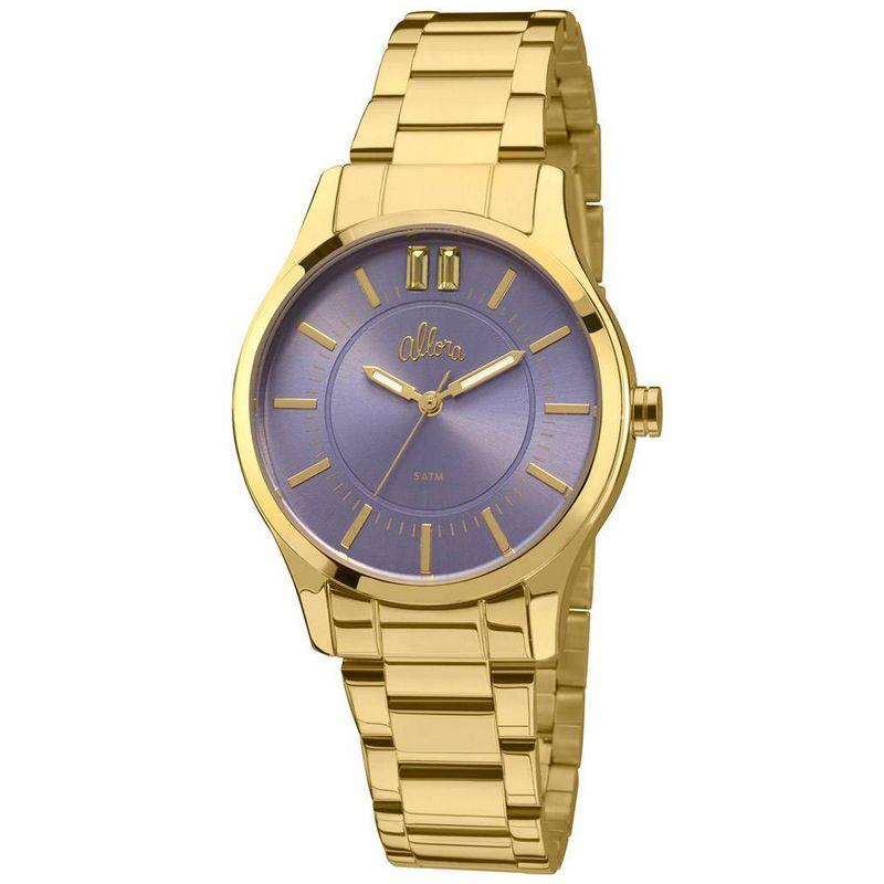 Relógio Allora Feminino Dourado Analógico Metal AL2036CN/4A